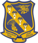 STICKER USN UNIT Leaping Frogs