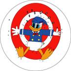 STICKER USN NIT NAS Jacksonville - Advanced Gunnery School - Donald Target