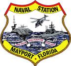 STICKER USN Naval Station Mayport Florida