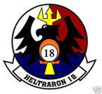 STICKER USN HT 18 Helicopter Training Squadron