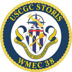 STICKER USCGC WMEC 38 STORIS