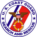 STICKER USCG SEARCH AND RESCUE