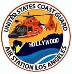 STICKER USCG AIR STATION LOS ANGELES II