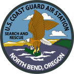 STICKER USCG AIR STATION NORTH BEND