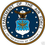STICKER USAF VET UNITED STATES AIR FORCE SHIELD