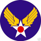 STICKER USAF VET ARMY AIR FORCE WWII VETERAN