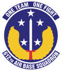 STICKER USAF  612th Air Base Squadron Emblem