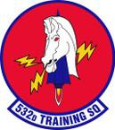 STICKER USAF  532nd Training Squadron Emblem
