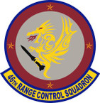 STICKER USAF  46 Range Control Squadron Emblem