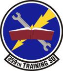 STICKER USAF  359 Training Squadron Emblem