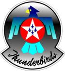 STICKER USAF THUNDERBIRDS B