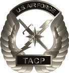 STICKER USAF TACTICAL AIR CONTROL PARTY
