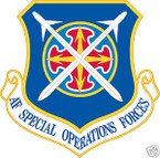 STICKER USAF SPECIAL OPERATIONS FORCES