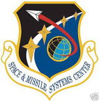 STICKER USAF SPACE AND MISSILE SYSTEMS CENTER