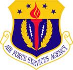STICKER USAF SERVICES AGENCY