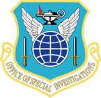 STICKER USAF OFFICE OF SPECIAL INVESTIGATIONS