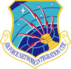 STICKER USAF NETWORK INTEGRATION CENTER