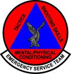 STICKER USAF Emergency Service Team