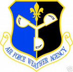 STICKER USAF AIR FORCE WEATHER AGENCY