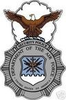 STICKER USAF Air Force Security Police A