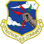 STICKER USAF AIR FORCE SAC MILKY WAY D