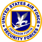 STICKER USAF Air Force Security Defensor Fortis A