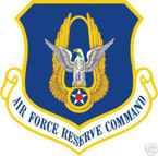 STICKER USAF AIR FORCE RESERVE COMMAND