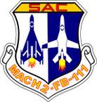 STICKER USAF AIR FORCE SAC FB111
