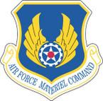STICKER USAF AIR FORCE MATERIEL COMMAND
