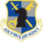 STICKER USAF AIR FORCE ISR AGENCY