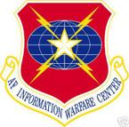 STICKER USAF Air Force Information Warfare Center