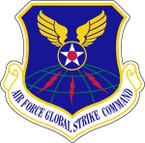 STICKER USAF AIR FORCE GLOBAL STRIKE COMMAND