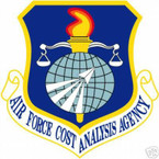 STICKER USAF Air Force Cost Analysis Agency