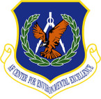 STICKER USAF AIR FORCE CENTER FOR ENVIRONMENTAL EXCELLENCE
