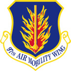 STICKER USAF 97TH AIR MOBILITY WING