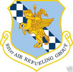 STICKER USAF 931ST AIR REFUELING GROUP