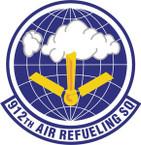 STICKER USAF 912th Air Refueling Squadron Emblem