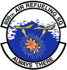 STICKER USAF 909th Air Refueling Squadron Emblem