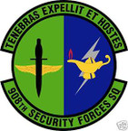 STICKER USAF 908TH SECURITY FORCES SQUADRON