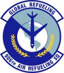 STICKER USAF 906th Air Refueling Squadron Emblem