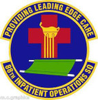 STICKER USAF 88th Inpatient Operations Squadron Emblem