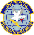 STICKER USAF 820th Combat Operations Squadron Emblem