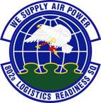 STICKER USAF 802nd Logistics Readiness Squadron Emblem