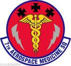STICKER USAF 7th Aerospace Medicine Squadron
