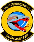STICKER USAF 78TH RECONNAISSANCE SQUADRON