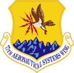 STICKER USAF 77TH AERONAUTICAL SYSTEMS WING
