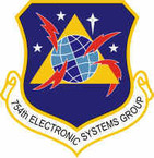 STICKER USAF 754th Electronic Systems Group