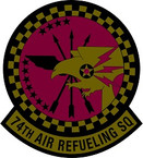 STICKER USAF 74th Air Refueling Squadron