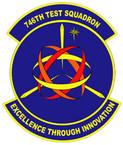 STICKER USAF 746TH TEST SQUADRON