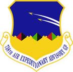 STICKER USAF 738th Air Expeditionary Advisory Group Emblem